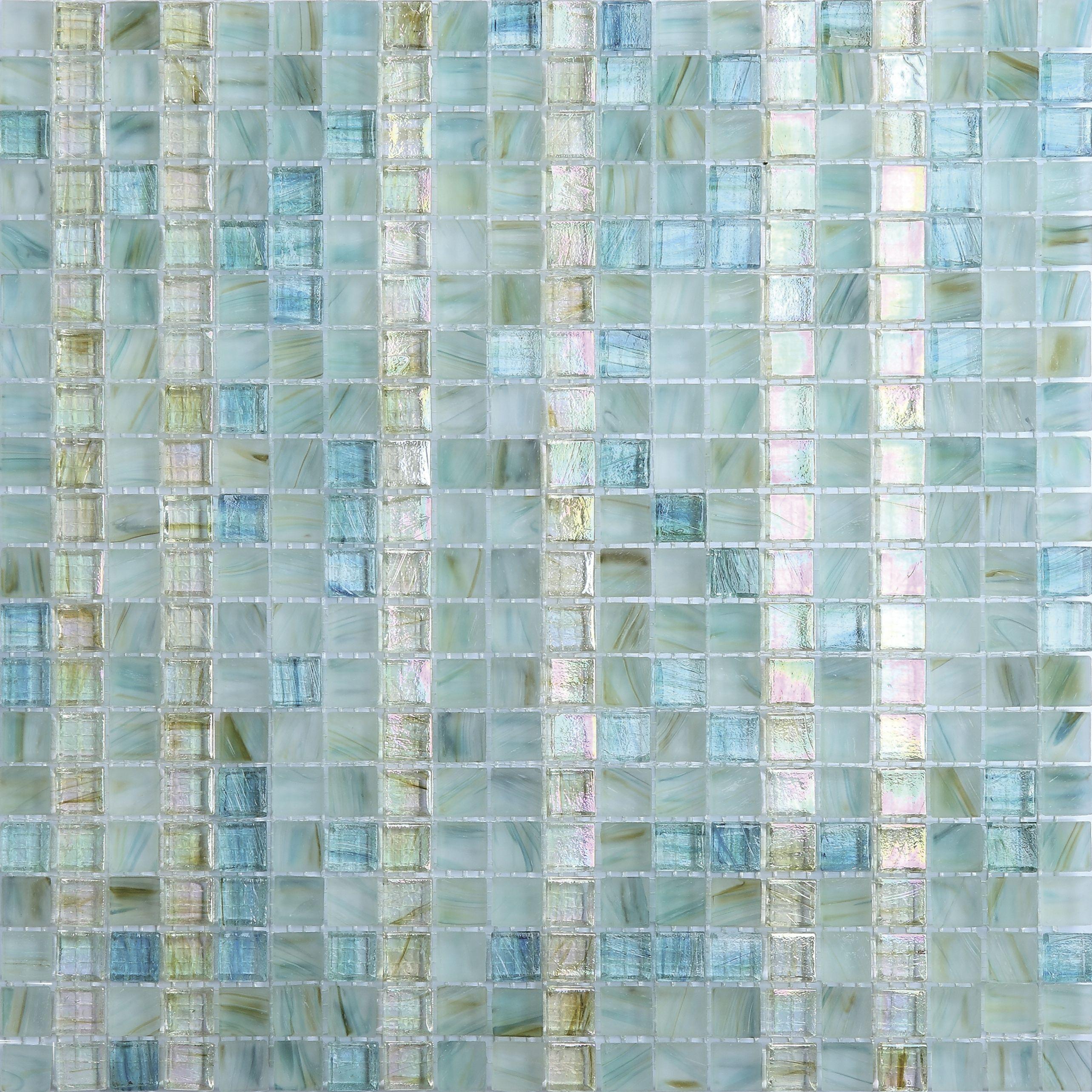 IRG0043 - tile, mosaic tile, kitchen backsplash, crystal glass tile ...