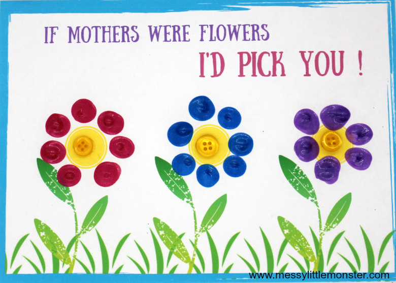 Mother S Day Card Craft For Kids With Free Printable If Mothers Were Flower Template A Cute Mothers Day Cards Mothers Day Crafts Mothers Day Crafts For Kids