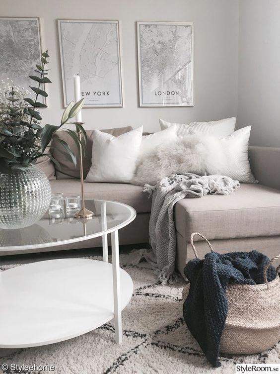 Photo of 8 Drømmende koselige rom akkurat i tide til vinter wonderland #homedecorlivingroom …