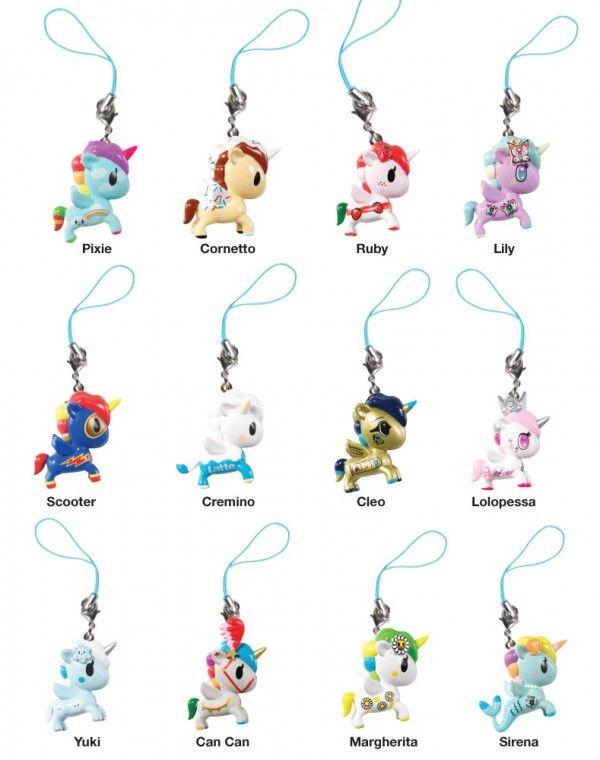 Tokidoki Unicorno Frenzies Series 2 1-Inch Vinyl Figure Key Chain Cremino