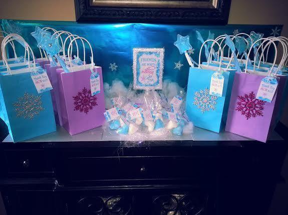 Frozen Disney Party Birthday Party Ideas Photo 29 Of 50