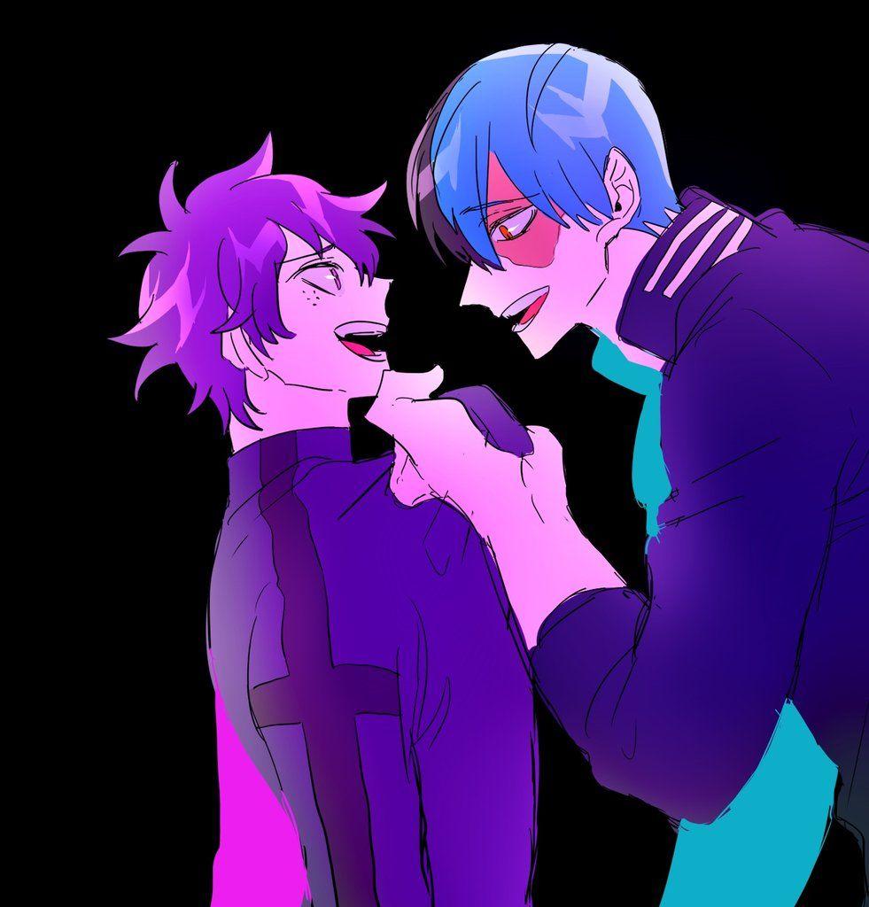 Midoriya Izuku and Todoroki Shouto (Villain)    AU Inverted    Boku