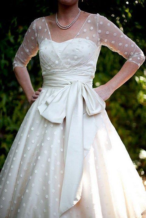 Viman's 2017 Fashion V Neck Vestido De Noiva Tea Length Ball Gown White polka dot Wedding Dresses With Sleeves Ball GownCD136-in Wedding Dresses from Weddings & Events on Aliexpress.com   Alibaba Group
