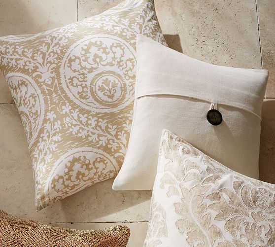 Frances Medallion Pillow Cover Living Rooms Pinterest Linen Amazing Medallion Pillow Covers