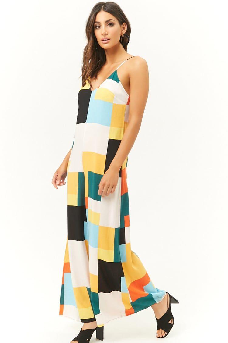 4320bc0994a Colorblock Wide-Leg Jumpsuit
