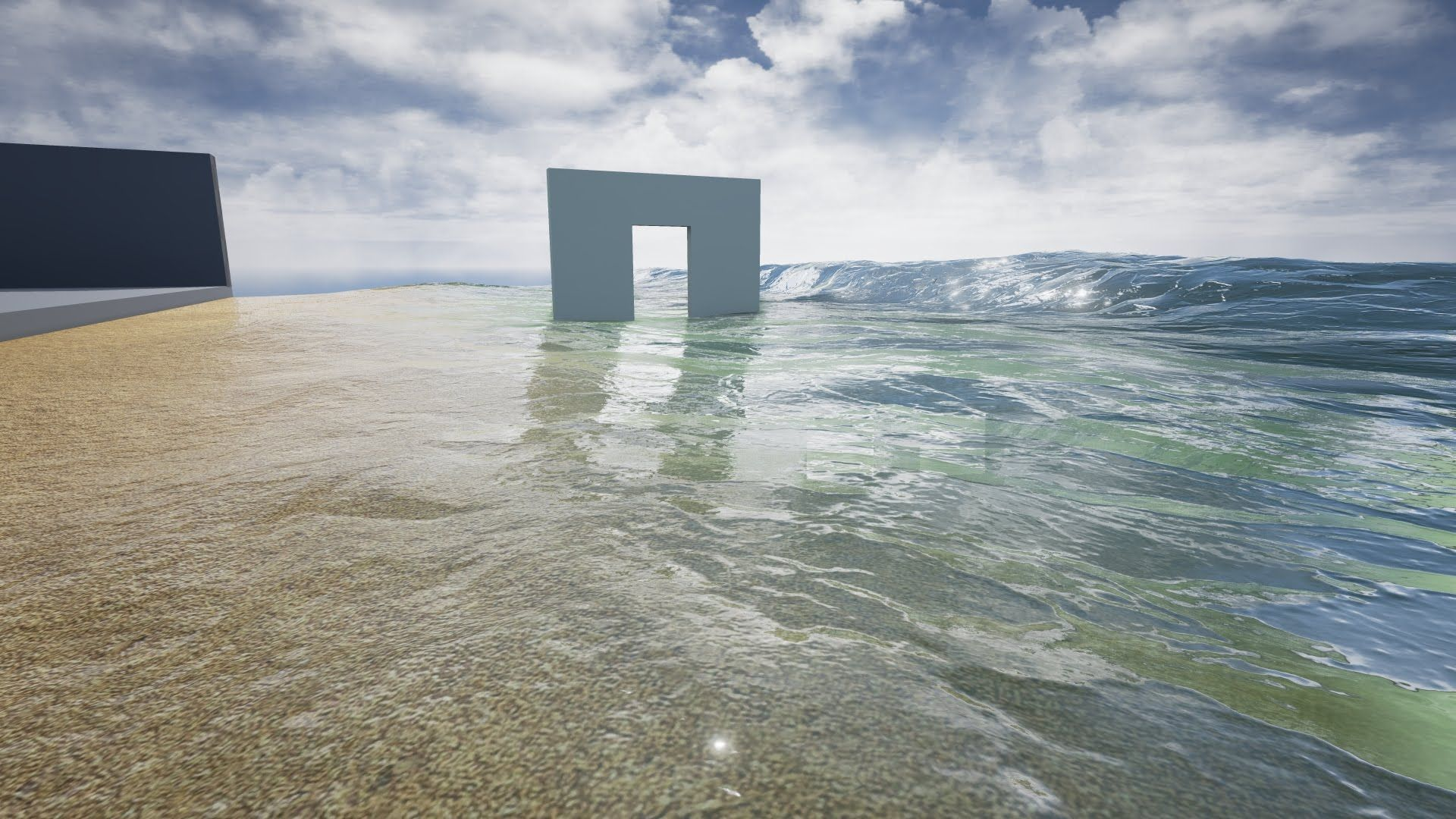 UE4 Ocean Water Shader | Unreal 4 in 2019 | Unreal engine