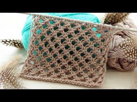 Photo of Pattern Large mesh spokes. The second version of the knitting pattern. Part 2