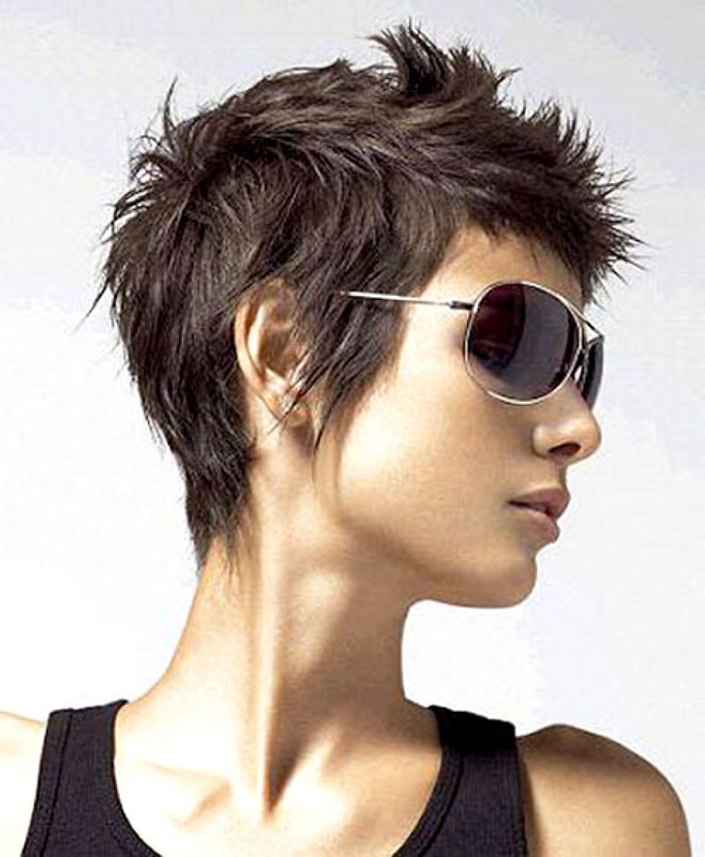 short spiky pixie haircut | hair & makeup | pinterest | edgy pixie