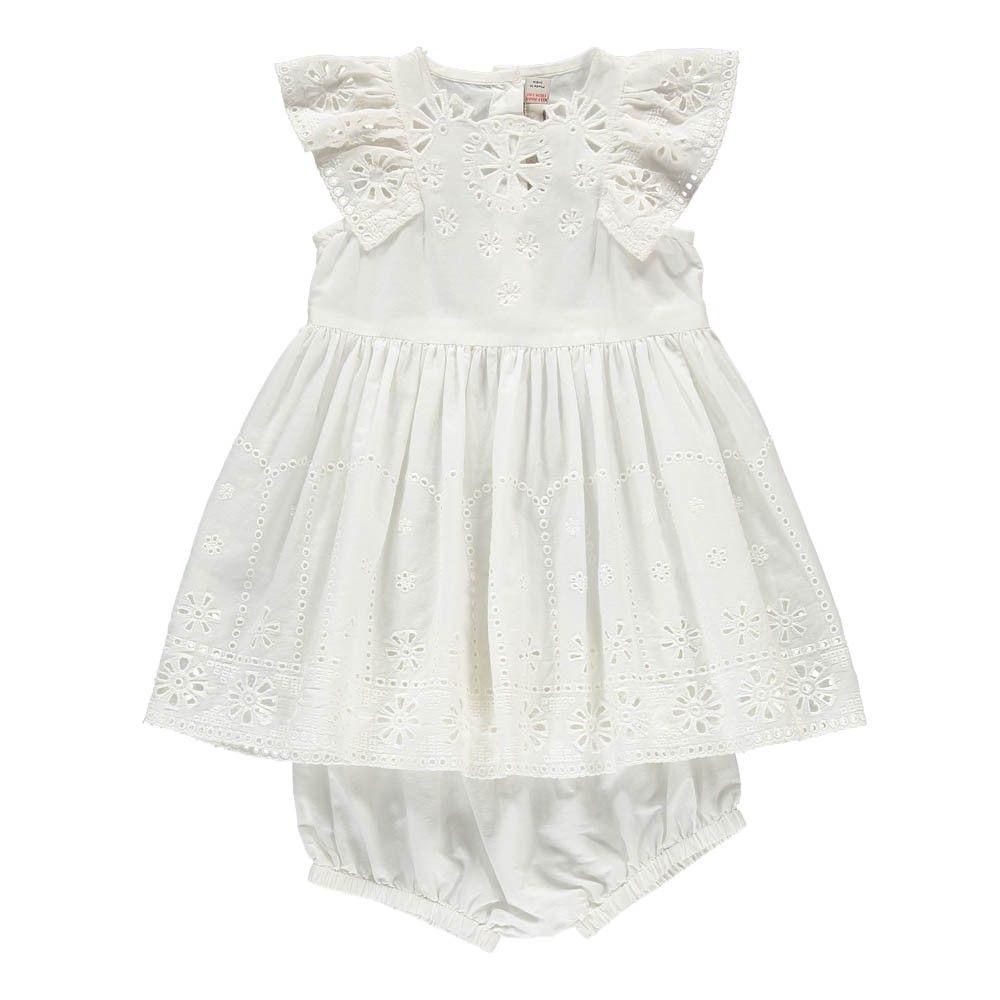abd1c7f7fac9 Stella McCartney Kids Sundae Broderie Anglaise Dress + Bloomers ...