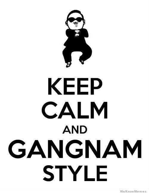 #GangnamStyle :P