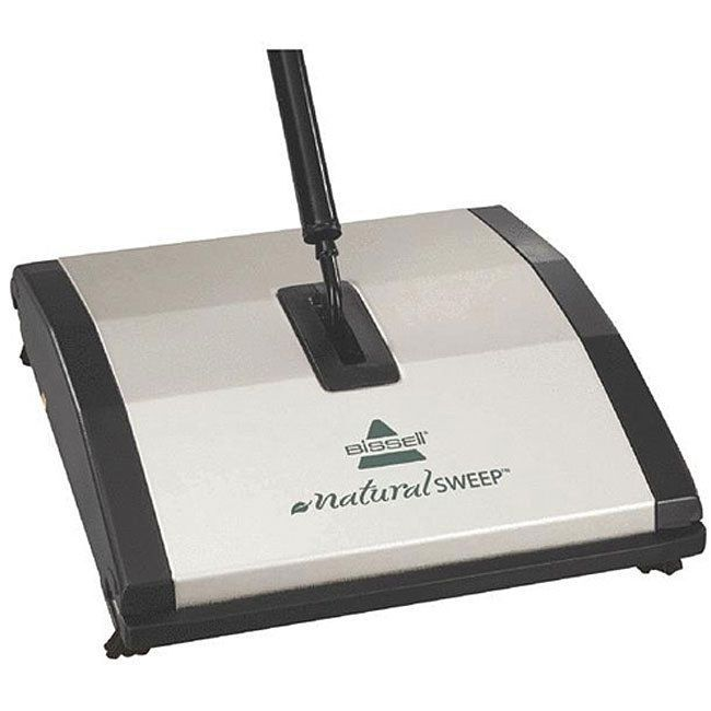 Bissell Natural Sweep Manual Carpet Floor Sweeper Cordless