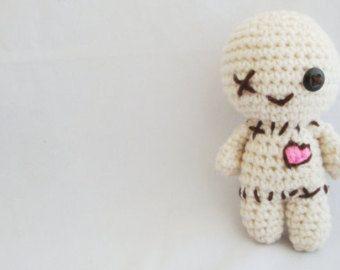 Owie the Voodoo Doll – Free Amigurumi Pattern in 2020 | Knitting ... | 270x340