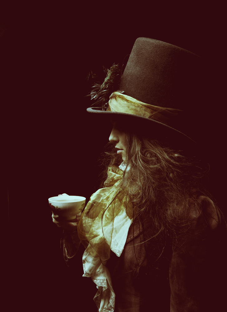 the Midnight Hatter's lady