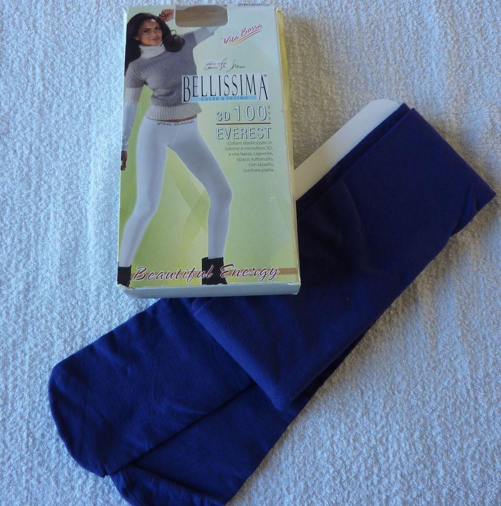 Collant opaque 100 den everest taille 3 M Camila Morais neuf (tights)
