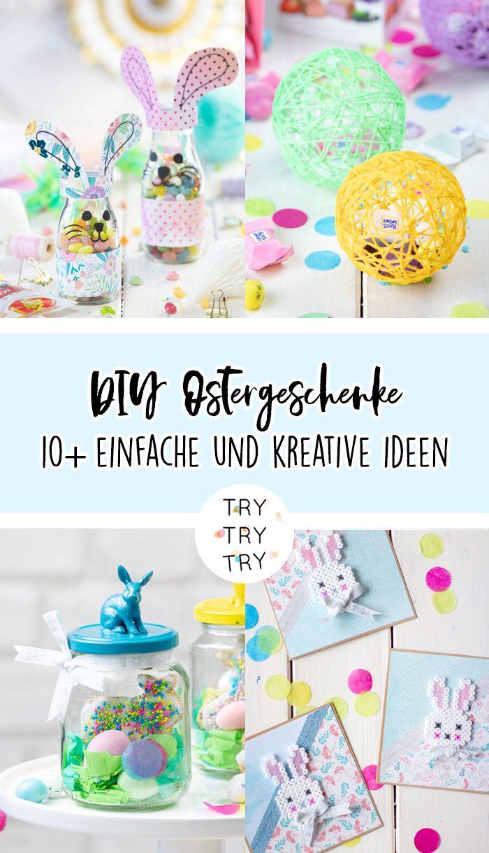 10+ kreative DIY Ostergeschenke
