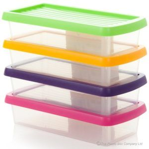 Delicieux Small Plastic Storage Boxes With Lids