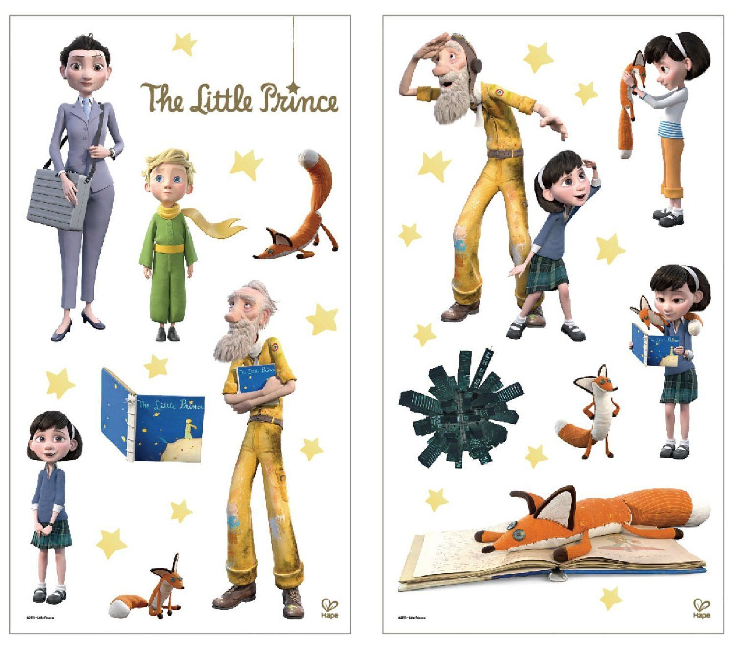 The Little Prince Wall Stickers The Little Prince The Little Prince Movie Wall Stickers
