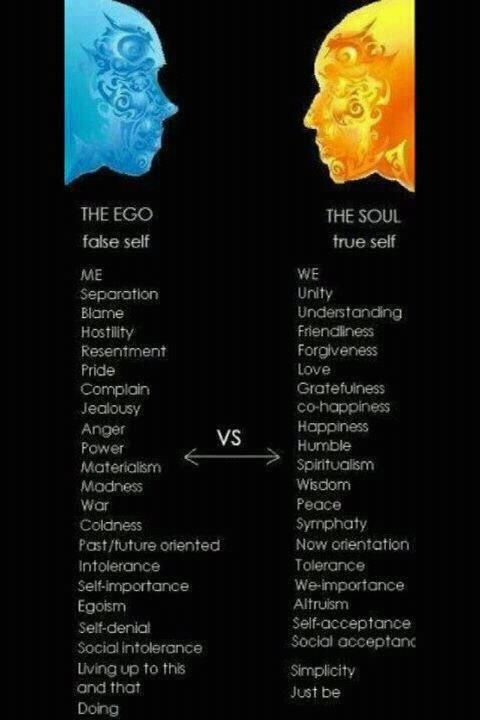the ego vs the soul quotes inspiration ego vs soul self
