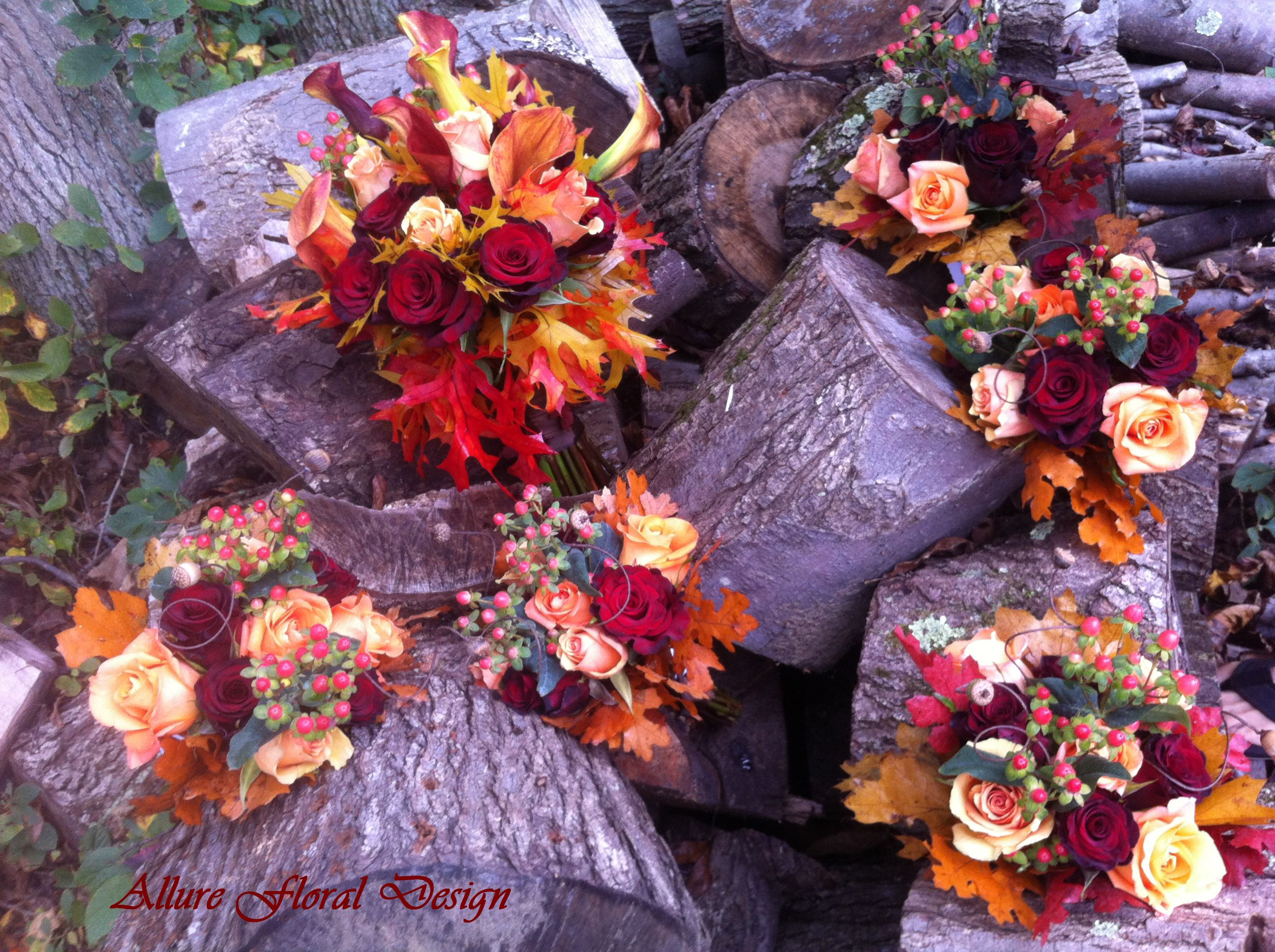 fall wedding flowers bridal bouquets pinterest