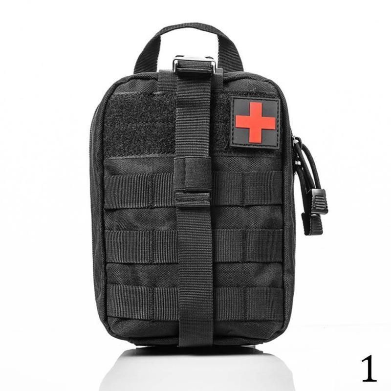 Outdoor Tactical Medical Bag Travel First Aid Kit Multifunctional Waist Pack Camping Climbing Bag In 2021 Bags Tactical Pouches Climbing Bag