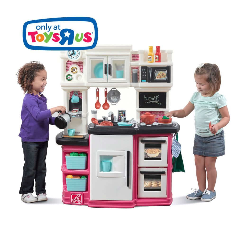 Great Gourmet Kitchen Pink Kids Play Kitchen Kids Play