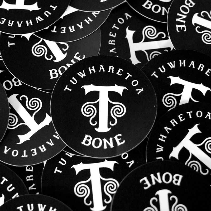 Free Stickers When You Buy One Of Our New Zealand Maori Bone