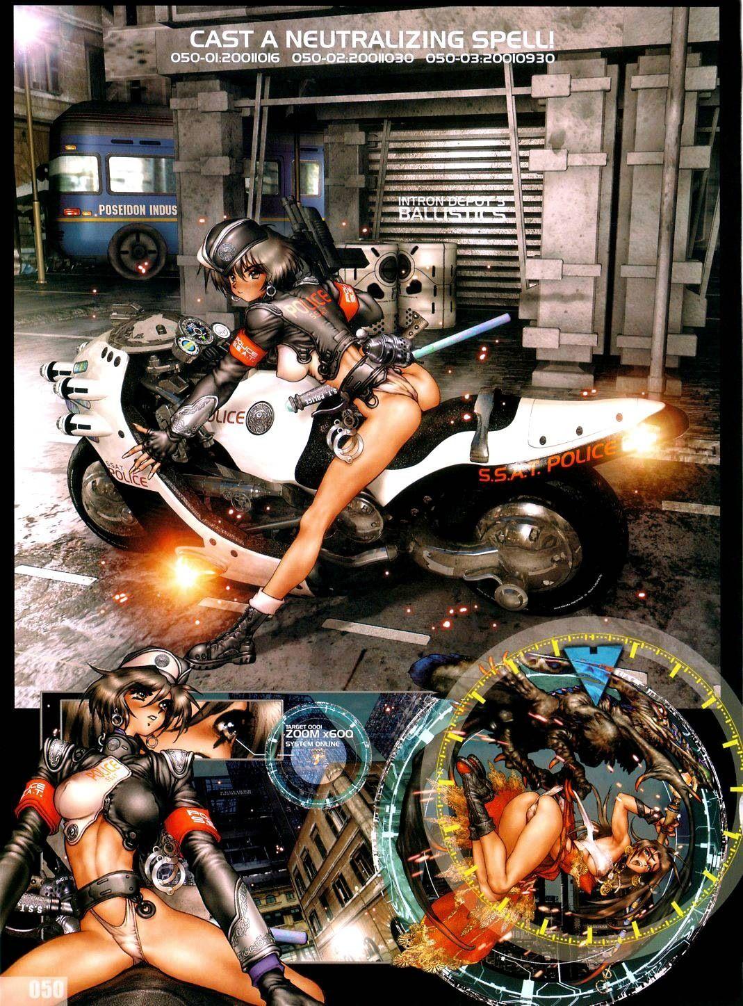 Intron Depot 3 Starship Police Masamune shirow, Manga