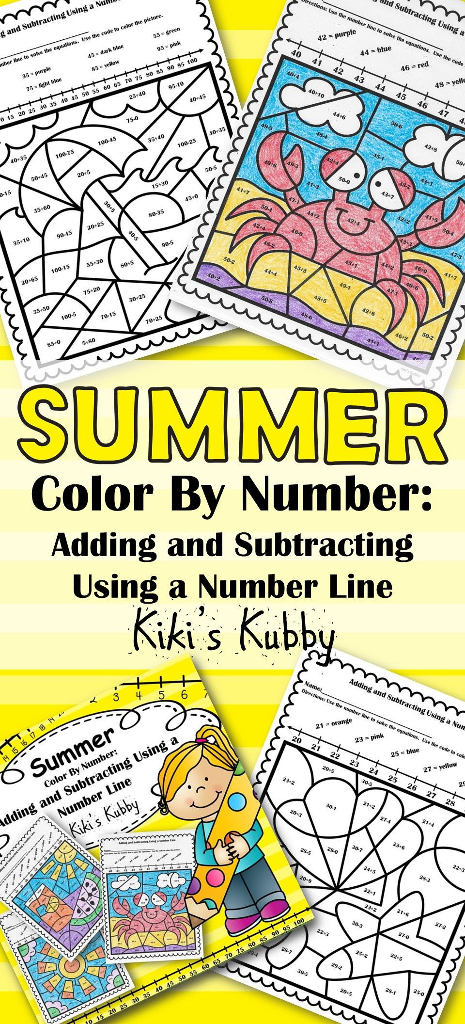 Unique Color By Number Spring Sketch - Coloring Page ...