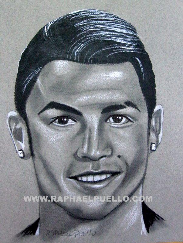 Cristiano Ronaldo Lapiz Www Raphaelpuello Com Dibujos De Anime Artistas Cristiano Ronaldo