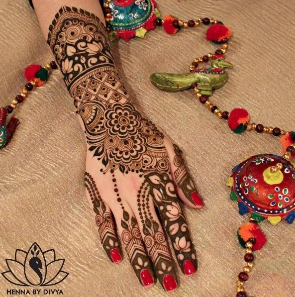 Indian Mehendi Henna Design Ideas For Modern Indian Bride Mehendi