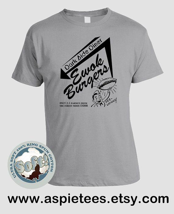 Star Wars tshirt Ewoks and Deathstar funny top