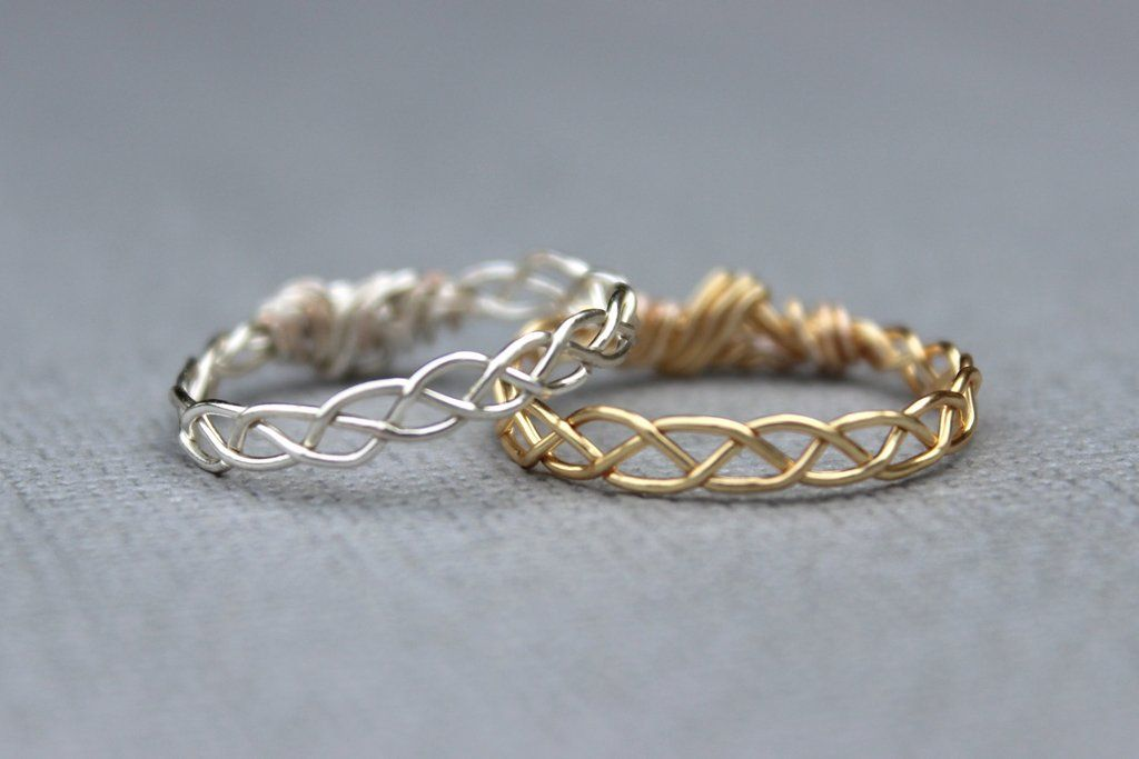 Braided Bands | Tarnished silver, Jewelry ideas and Wrapping ideas