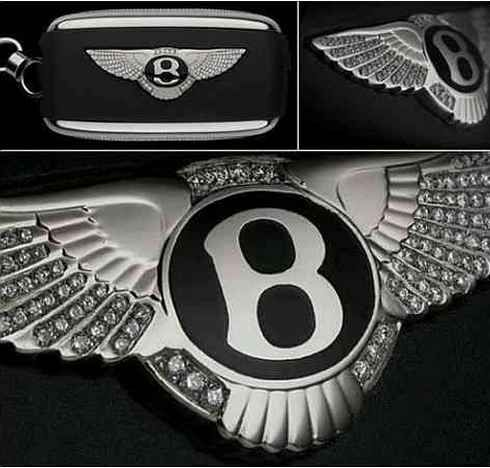 Alexander Amosu Has Designed Most Expensive Car Keys With A Total - Car sign with wings