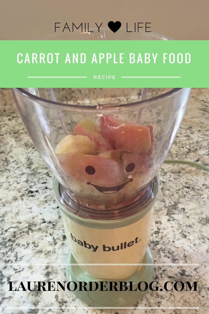 Baby Food: Easy Stage 1 and 2 with Carrot/ Apple