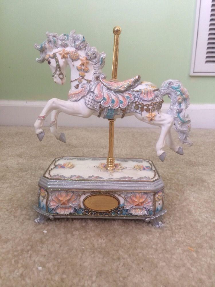 San Francisco Music Box Company Neptune S Fantasy Carousel Horse
