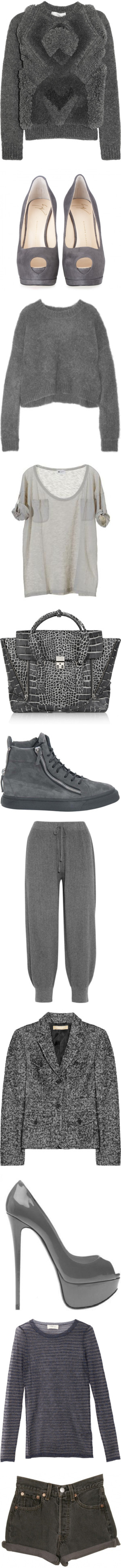 """100 Shades of Grey"" by llsbo ❤ liked on Polyvore"