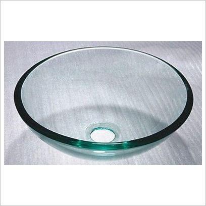 Round Sink   Glass Bowl Clear Ostar