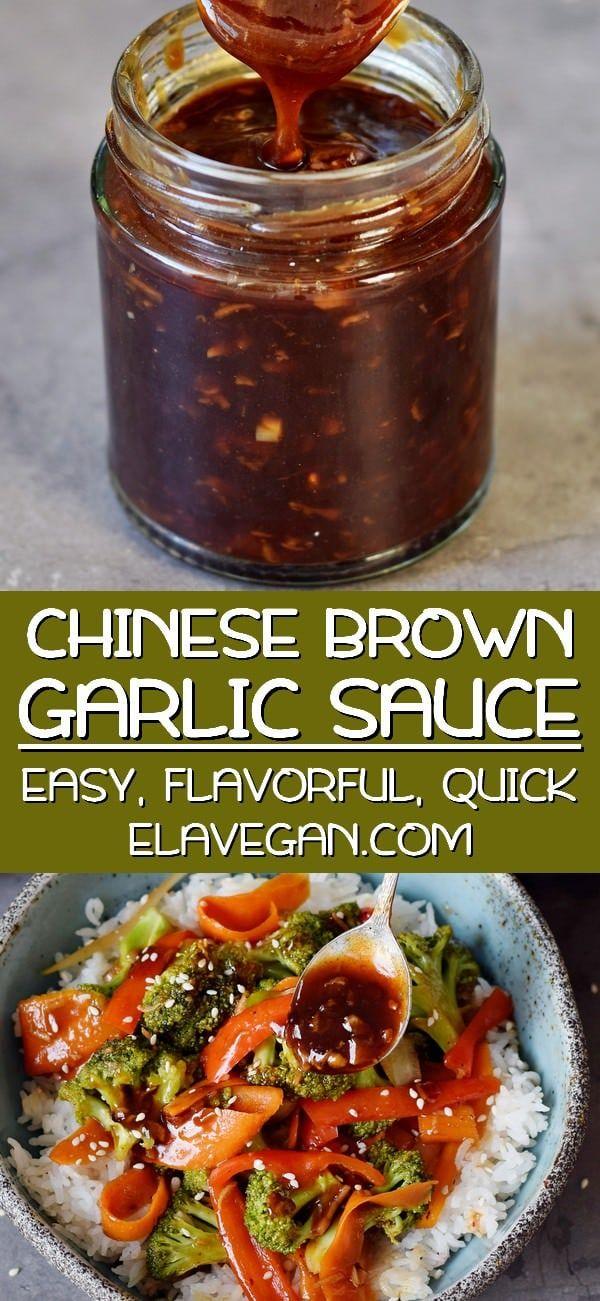 Chinese Garlic Sauce (Szechuan Sauce)