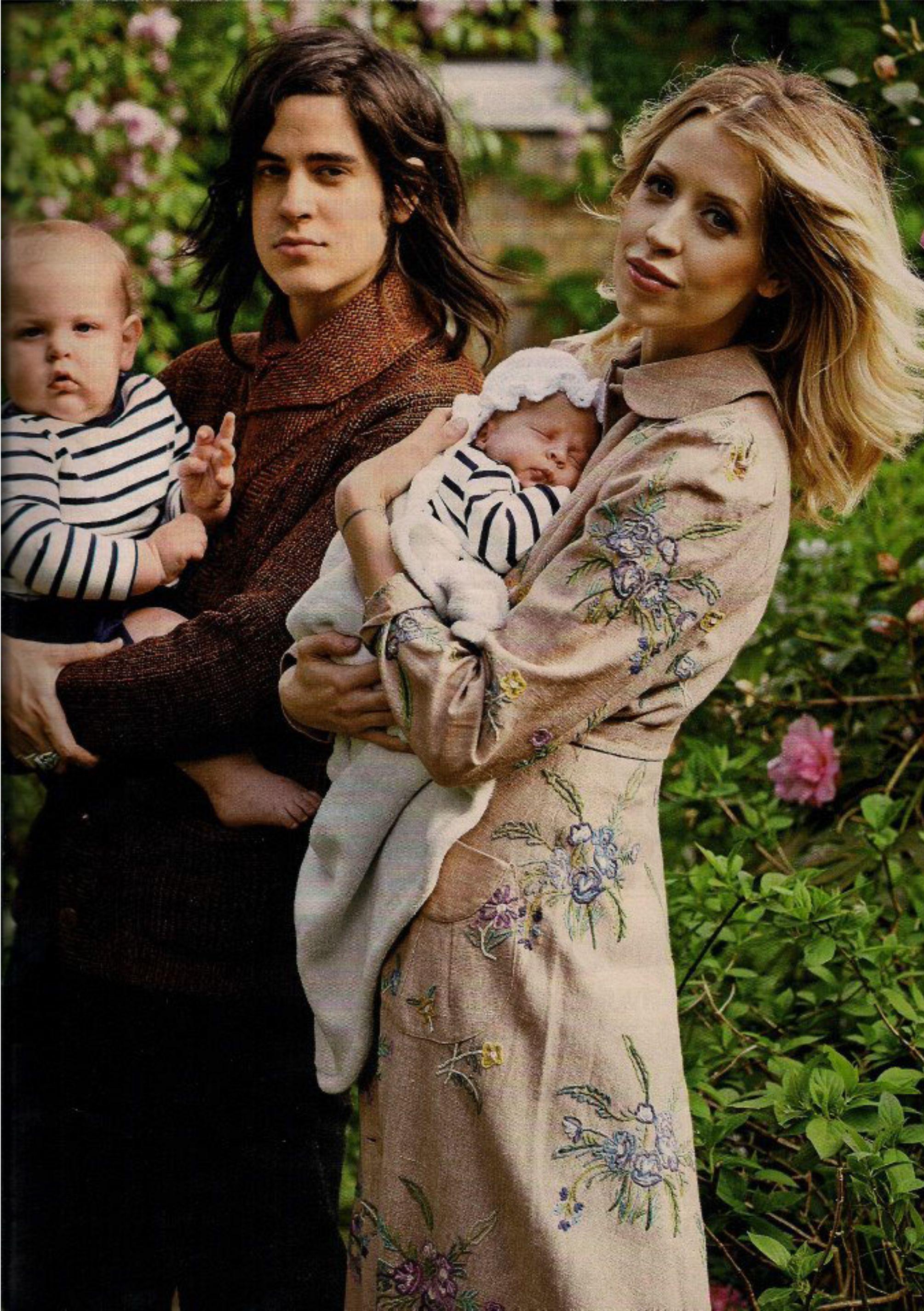 Peaches geldof wedding dress  Peaches Geldof in Hello Magazine  Merchant Archive  Peaches Geldof