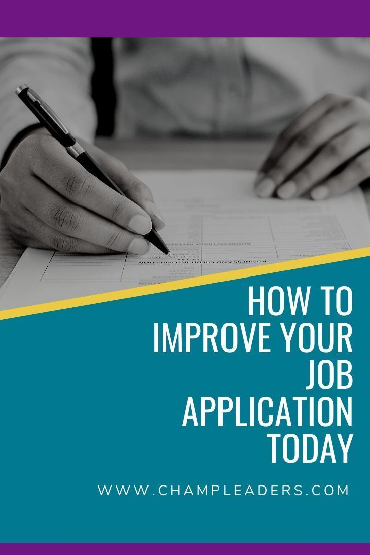 How to improve your job application in 2020 job