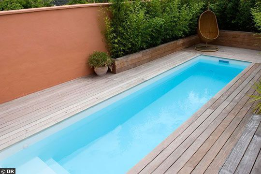 une mini piscine pour un maxi plaisir mini pool house. Black Bedroom Furniture Sets. Home Design Ideas