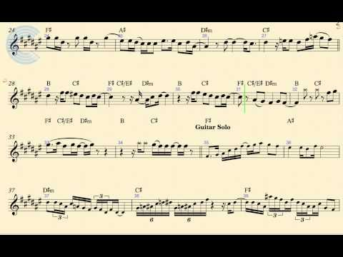 Santeria Sheet Music Ibovnathandedecker