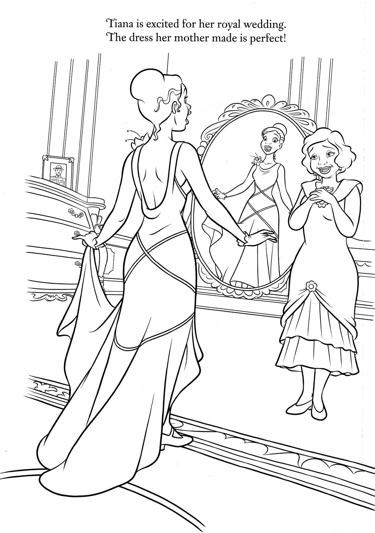 princess and the frog coloring pages disney coloring pages