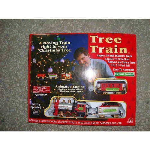 Seasonal Vision Christmas Tree Train Christmas Tree