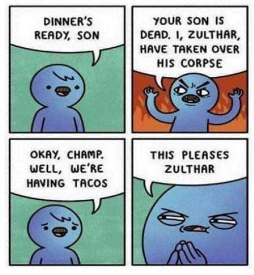 - Zulthar? What kinda stupid name is that?
