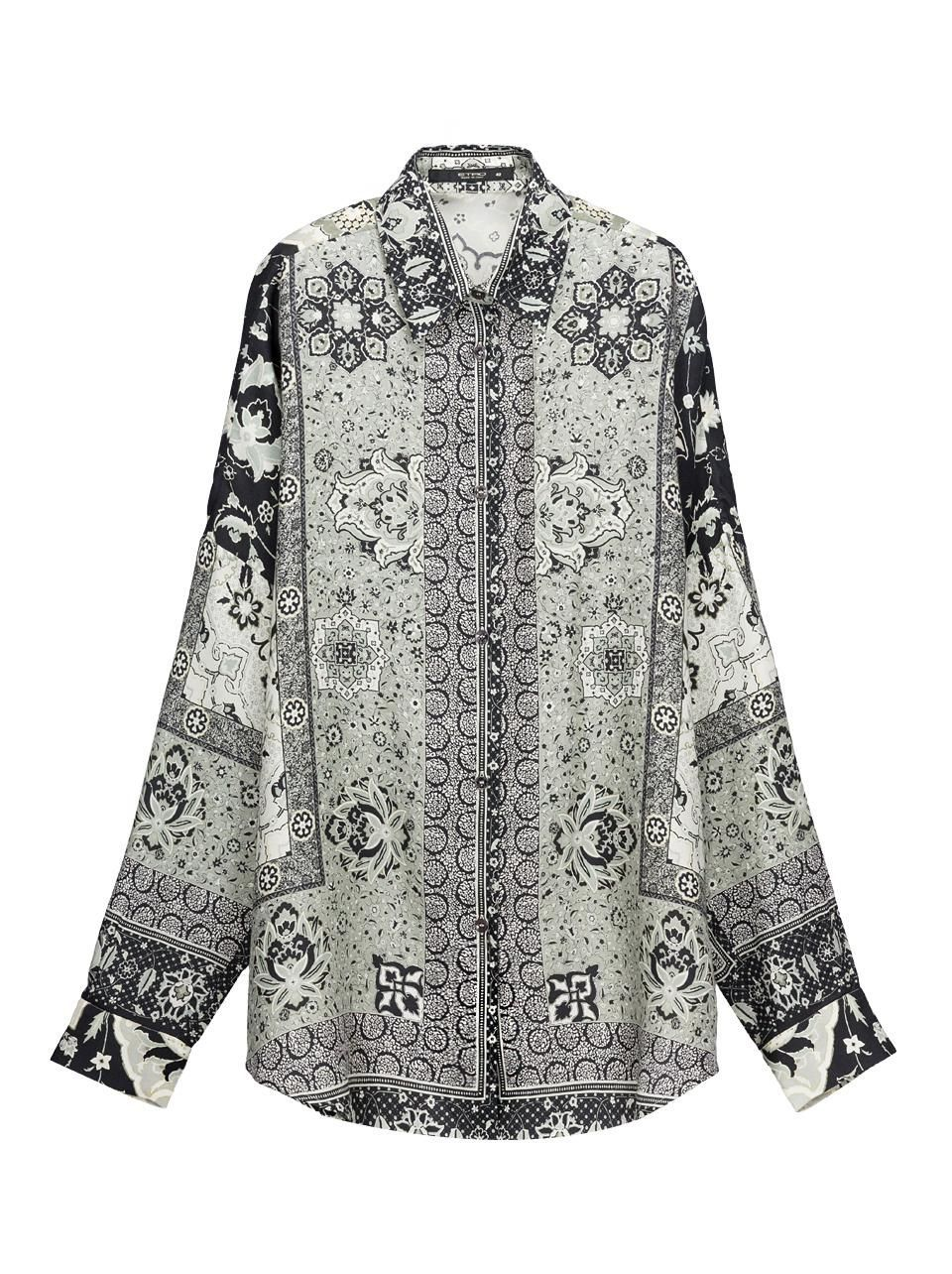 Shop Etro's women's shirts for the new season on the Official Website. Etro oversized shirt - Product Code: 142D1778351340001. Discover the Autumn Winter 14-15 Collection.