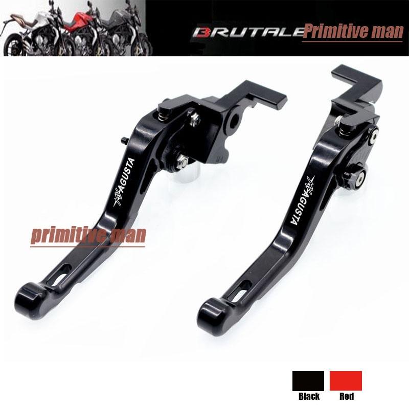 41.99$  Buy now - For MV Agusta F4 750 1000 312R 312RR Motorcycle Short Brake Clutch Levers Black  #magazine