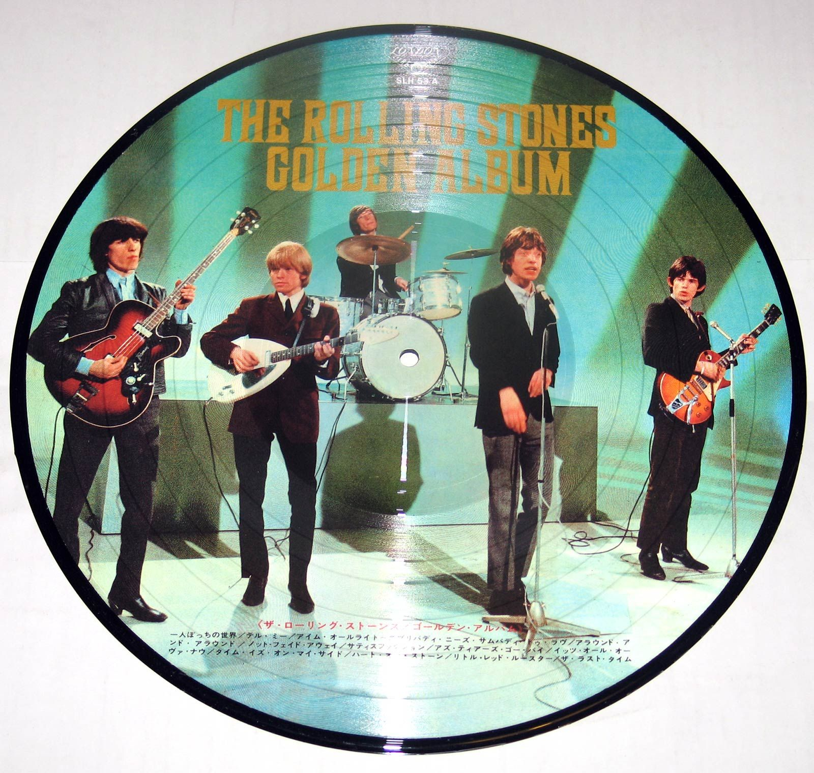 ROLLING STONES Golden Album Japan Picture Disc 180gr