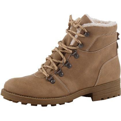 Bezaubernde #Stiefeletten in #Braun von #Esprit. Warm gefütterte #Boots in #Wildleder-#Optik mit derber #Profil-#Sohle. ♥ ab 89,99 €