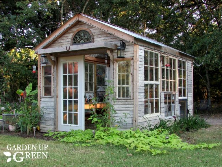 reclaimed she shed recycled materials windows doors - Garden Sheds From Recycled Materials